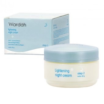 Harga Wardah Light Night Crm Step 2