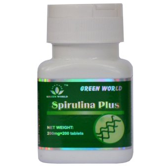 Harga Green World Spirulina Plus Tablet