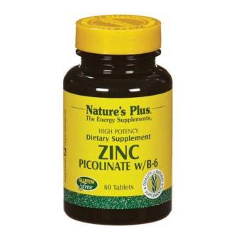 Nature's Plus Zinc Picolinate With B6 60's - Meningkatkan Daya Tahan Tubuh, Kekebalan Tubuh, Imunitas Tubuh, Antioksidan ...