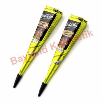 Full Colour Isi 12 Pc Tato Gambar Tato Pewarna Hena Cone Warna Warni . Source ·
