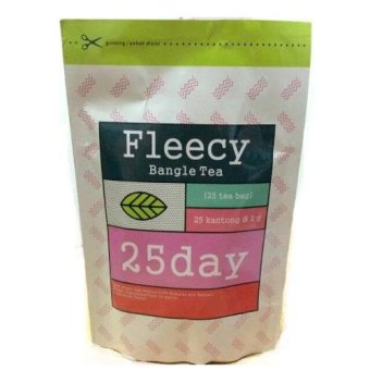 Harga Fleecy Bangle Tea - Slimming Tea - Teh Pelangsing