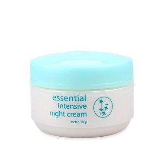 Harga Wardah Essential Intensive Night Cream 30 gr