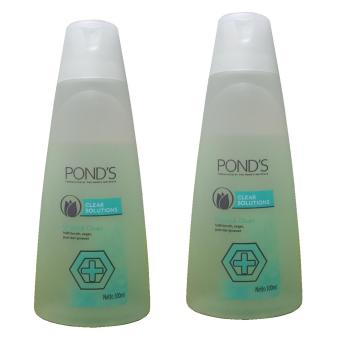 Harga Pond's Clear Solutions Shake & Clean 100ml 2pcs