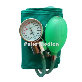 General Care Tensi Jarum / Aneroid Transparan - Green
