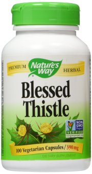 Harga Nature's Way Blessed Thistle 390mg - 100 Kapsul (ASI Booster)