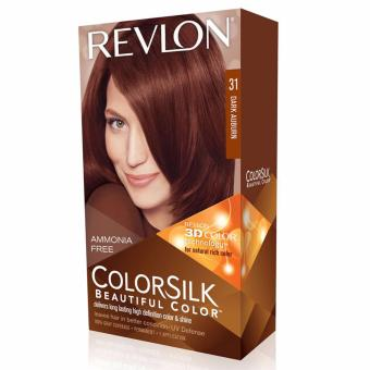 Harga Revlon ColorSilk Hair Color - Dark Auburn