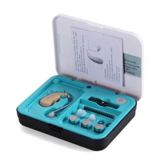 Hang telinga mendengar suara pengeras volume bantuan yang dapat disesuaikan nada alat bantu .