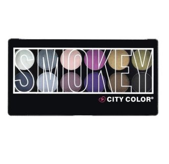 Harga City Color Smokey Shadow Palette