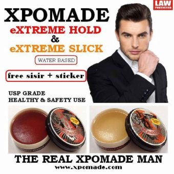 Harga XPomade Water Based, Oil Based and Liquid Pomade