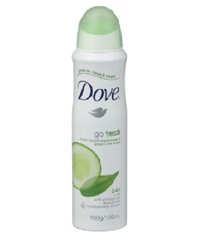 Harga Dove Fresh Cucumber Anti Perspirant - 250 mL
