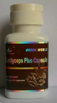 Harga Green World Cordycep plus capsule