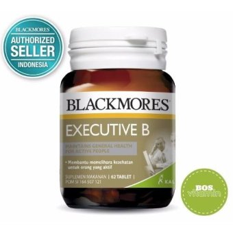 Harga Blackmores Executive B Stress Formula BPOM Kalbe - 62 Tablet