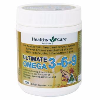 Healthy Care Ultimate Omega 3-6-9 - 200 Kapsul ...