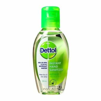 Harga Dettol Hand Sanitizer Fresh 50ml
