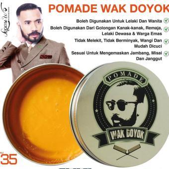 Wak Doyok Krim Penumbuh Jambang & Rambut 75 Ml Page 3 Daftar Source · Pomade Wak