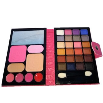 Harga Make Up Set - Shadow, Bedak, Lipstik, Blush On - Berwadah Dompet.