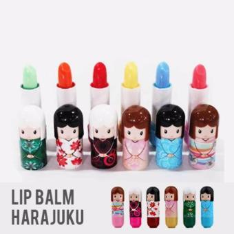 Lipbalm Harajuku lipstik boneka - 1 . Source · Lucky Silisponge Silicon Sponge Makeup Motif Random 1 Pcs Hanaka ... - MASKER LUMPUR