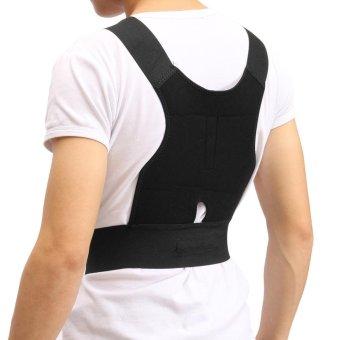 Brace Belt Source Dimana Beli Adjustable Support Correction Back Lumbar Shoulder Makiyo Adjustable .