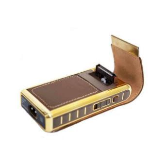 Feiren Shaver Alat Cukur Jenggot & Kumis Gold Bundling Battery Source · Gambar Pencukur Kumis Dan