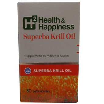 Harga Kalbe Biokos H2 Health & Happiness Superba Krill Oil - 30 Kaplet