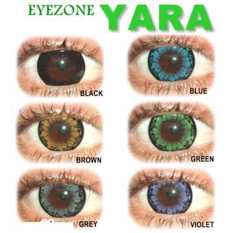 Detail Gambar Softlens Eyezone / Soft Lens Eye Zone Yara KEMENKES - Brown + Free Softlens