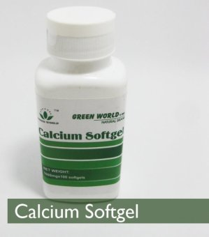 Harga Green World Calcium Softgel