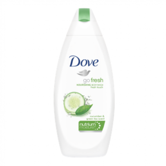 Harga Dove Body Wash Go Fresh Cucumber 200ml