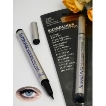 Super Liner Instant Impact Felt Liner / Eyeliner Spidol - Hitam