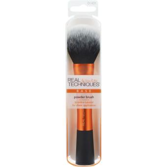 Harga Real Techniques Powder Brush Gold