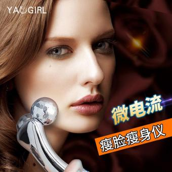 3D manual roller face-lift massage 2 round shaping firming beauty massage instrument face-