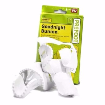 Harga Goodnight Bunion - Say Goodbye To Painful Bunion - Penghilang Bengkak - Putih
