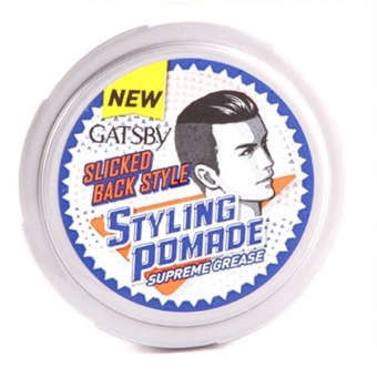 Harga Gatsby STYLING POMADE SUPREME GREASE 80