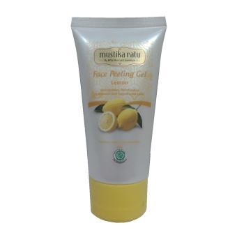 Mustika Ratu Masker Peeling Lemon Kulit Lembab Lembut dan Lebih Cerah 60g