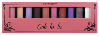 Harga City Color - Eyeshadow Pallete -Oh La La