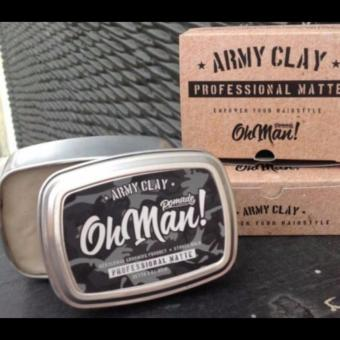 Harga Army Clay The Professional Matte By Oh Man! Pomade (Water Based Type)
