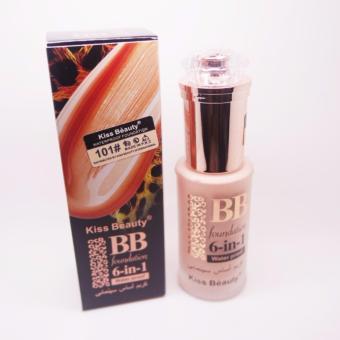 Kiss Beauty BB Foundation 6in1 WaterProof Matte Satin Result - 1 pc