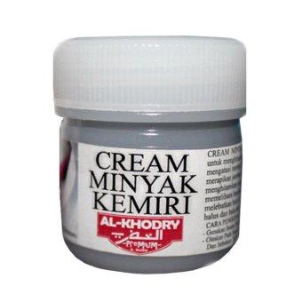 teknik lucky - minyak kemiri - al khodry cream penumbuh rambut tak Warna Minyak Kemiri Al Khodry