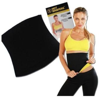 Harga Sports Hot Shaper Neotex Slimming Body Belt / Korset Peramping - Black