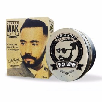 Harga Wak Doyok Pomade Hair Wax Rambut Water Based Gel Strong Hold Tahan Lama Wangi Herbal Alami