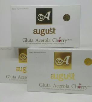 Harga Gluta August Acerola Cherry Original With Hologram 100% Original
