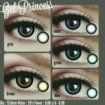 Harga Softlens Gel PRINCESS / Soft Lens Gel Princess MADE IN KOREA - Brown