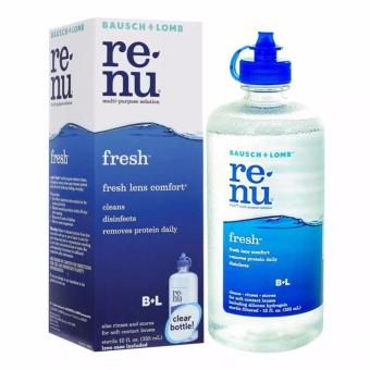 Harga Bausch & Lomb Re-Nu Fresh Renu 355ml