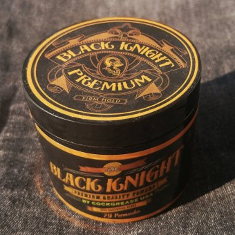 Harga x 79 Pomade Black Knight - Water Based Pomade (Heavy hold)