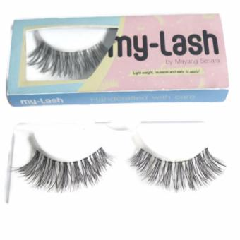 Harga Mesh My Lash False Eyelashes Bulu Mata Palsu - Abby 1 pair