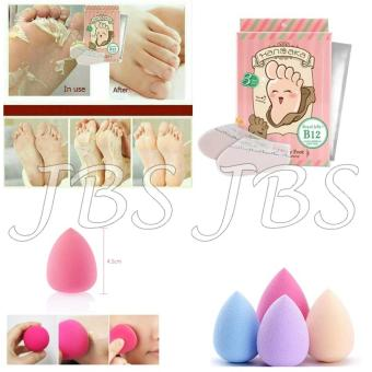 Home Jbs Mini Cetakan Alis Brow Class Spon Make Up Spon Beauty Blender . Source · Hanaka - Renewal Baby Foot - Solusi Kaki Pecah-pecah - Spon Make Up -
