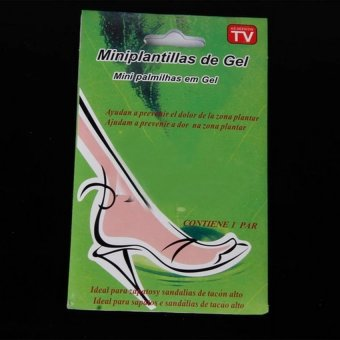 Harga Rafa High Heel Shoes Pad Gel Front / Insole Silikon Heel Anti Lecet