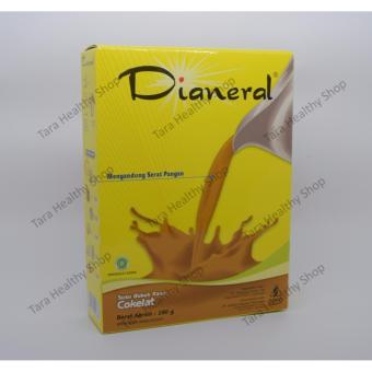 Soho Dianeral Coklat 180 gram (Susu Pengganti Makanan Untuk Penderita Kencing Manis / Diabetes)