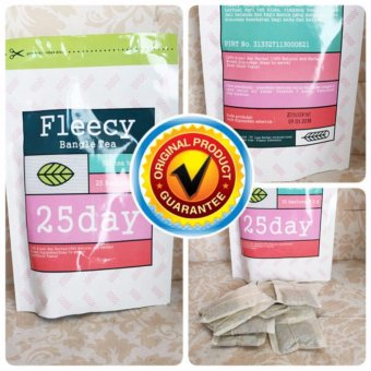 Harga FLEECY Bangle Tea 100% ORIGINAL Slimming Tea Teh Pelangsing