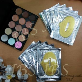 Harga Mn Menow-Pro 15 Color Contour Cream Series - Collagen Lip Mask - Masker Bibir 10pcs