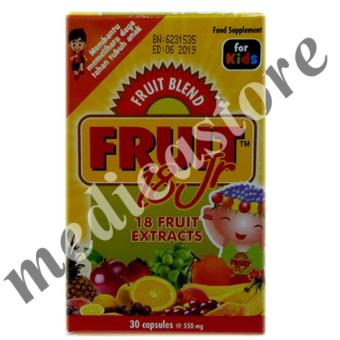Fruit 18 Jr 30's